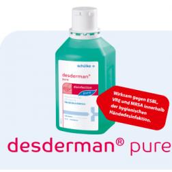 Desderman Pure Händedesinfektion 500ml