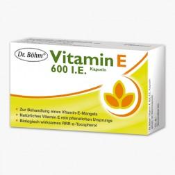 Dr. Böhm Vitamin E 600 I.E. Kapseln 30 Stück