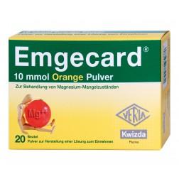 Emgecard Orange Pulver 10mmol Beutel 20 Stk.