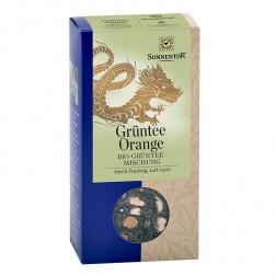 Sonnentor Grüntee-Orange bio, 100 g