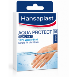 Hansaplast Aqua Protect Hand Set 16 Stk.