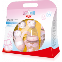 NUK Baby Rose & Blue Starter-Set-Rosa