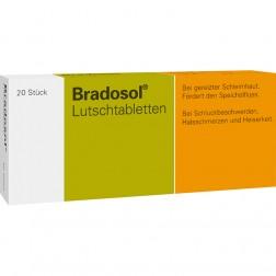 Bradosol Lutschtabletten-20 Stück