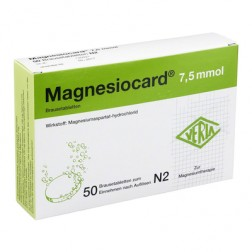 Magnesiocard Brausetabletten 7,5mmol