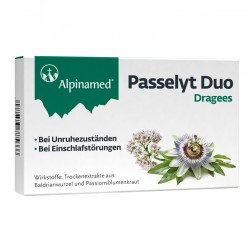 Alpinamed Passelyt Duo Dragees 30 Stück