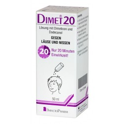 Dimet 20 Lösung gegen Läuse 100ml