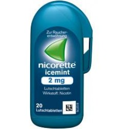 NICORETTE  LUTSCHTABL ICEMINT 2MG