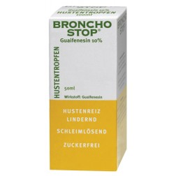 Bronchostop Guaifensin Hustentropfen -100 ml