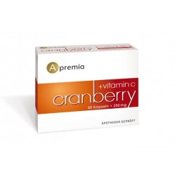Apremia Cranberry + Vitamin C 60 Kapseln