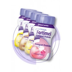 Fortimel Compact Protein-4 Stück-Erdbeer