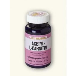 Acetyl-L-Carnitin Kapseln 500mg-180 Stück