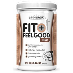 Fit + Feelgood Diät-Pulver 430g-Rotebeere-Joghurt