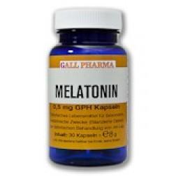 GPH Melatonin 0,5mg Kapseln-120 Stück
