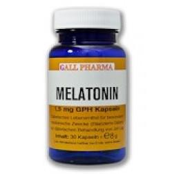 GPH Melatonin 1,5mg Kapseln-120 Stück