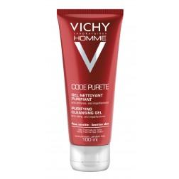 Vichy Homme Code Purete Reinigungsgel 100ml