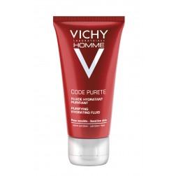 Vichy Homme Code Purete Feuchtigkeitsfluid 50ml