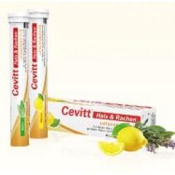 Cevitt Hals & Rachen Lutschtabletten 20 Stk-Zitrone
