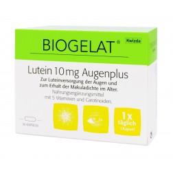 BIOGELAT LUTEIN 10 mg AUGENPLUS