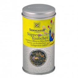 Sonnentor Suppenhäubchen Gewürz-Blüten Mischung bio, Streudose, 11 g