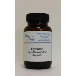 Hyaluron Plus Resveratrol Kapseln Bioflora Ehrmed