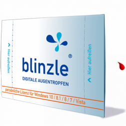 blinzle - digitale Augentropfen: Software zur Augenpflege 1Stk.
