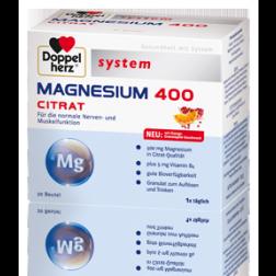 Doppelherz Magnesium 400 Citrat-40 Stück