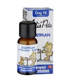 Diätplan - Edis Pets Bio Bachblüten für Hunde
