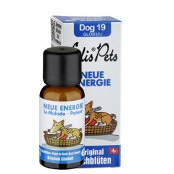 Neue Energie - Edis Pets Bio Bachblüten für Hunde