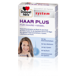 Dopppelherz system Haar Plus