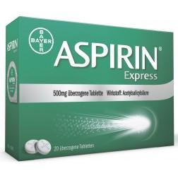 ASPIRIN Express Tabletten 500mg - 40Stk.