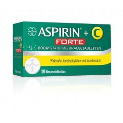 Aspirin®+C forte - Brausetabletten 10Stk.