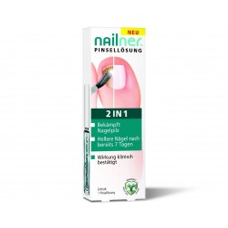 NAGEL  PILZ NAILNER PINSEL LOESUNG 2IN1 5ml