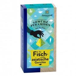 Sonnentor Gewürzpyramiden für Fisch- und Asiagerichte bio, 73,2 g
