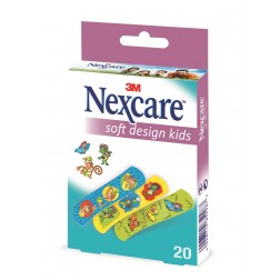 3M Nexcare Kinderpflaster Soft Kids Design 20Stk.