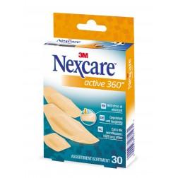 3M Nexcare Pflaster Active 360°assortiert 30Stk.