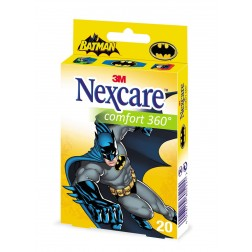 3M Nexcare Kinderpflaster Comfort 360° Batman 20Stk.