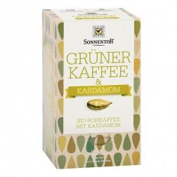 Sonnentor Grüner Kaffee-Kardamom bio, Doppelkammerbeutel