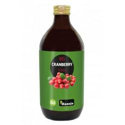 CRANBERRY  BIO PUEREE HANOJU 500ml