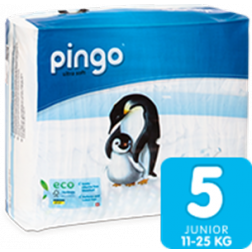 Bio Windeln Junior 12-25kg Pinguin ? Pingo Swiss 36Stk.
