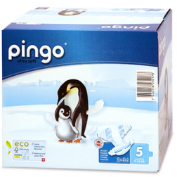 Bio Windeln Junior Jumbo 12-25kg Pinguin ? Pingo Swiss 72Stk.