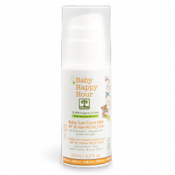 Bioselect Baby Happy Hour Baby Sun Care Milk SPF30 100ml