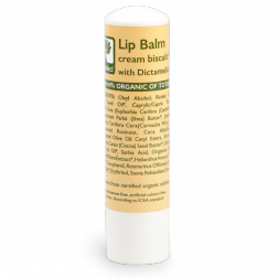 Bioselect Lip Balm cream biscuit flavor 5ml