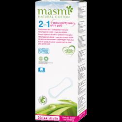 Masmi Organic Care - Bio Slipeinlagen Maxi Extra lang 24Stk.