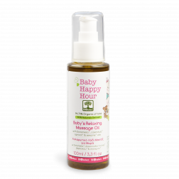 Bioselect Baby Happy Hour Baby's Relaxing Massage Oil 100ml