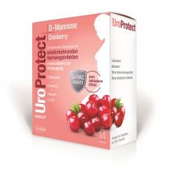 BIOGELAT UroProtect D-Mannose plus Cranberry Granulat 14Stk.