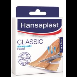 Hansaplast Classic 1m:8cm 10 Stk.