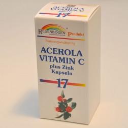 Regenbogen Acerola Vitamin C plus Zink Kapseln