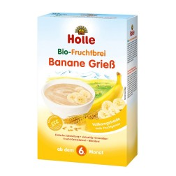 Holle Bio Baby Banane Griess