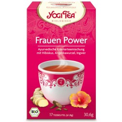 Yogi Tee Frauen Power